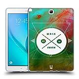 Head Case Designs Walk In Faith ネブラ・インシグニア ソフトジェルケース Samsung Galaxy Tab A 9.7