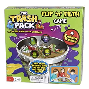 The Trash Pack Flip and Filth Board Game