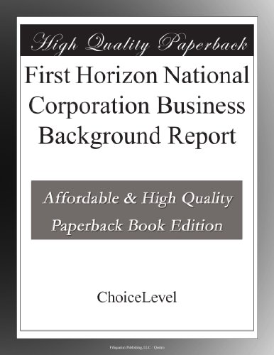 Buy First Horizon National Now!