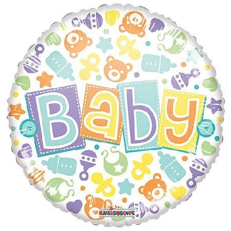"""CONVER USA Baby Pastel Gellibean Balloon, 18"""" - 1"""