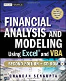 img - for Financial Analysis and Modeling Using Excel and VBA (Wiley Finance) by Sengupta, Chandan (2009) Paperback book / textbook / text book