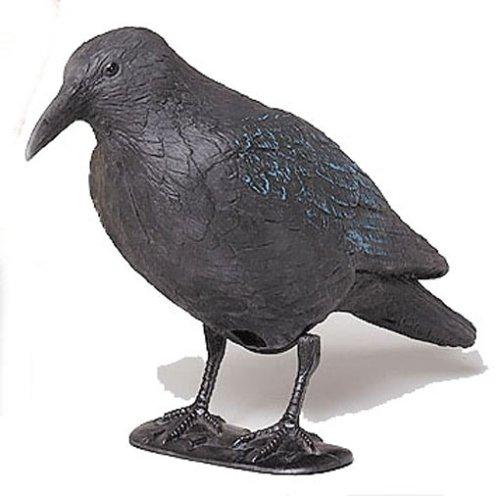 star-140519-crow-with-rod-plastic-feet-38-cm-black
