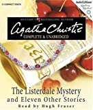 The Listerdale Mystery: And Eleven Other Stories (Audio Editions Mystery Masters) Agatha Christie