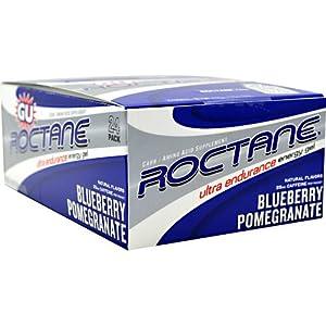 GU Energy Roctane Energy Gel Blueberry Pomegranate - 24 per pack