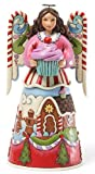 Jim Shore for Enesco Heartwood Creek Sweets Angel Figurine, 10-Inch