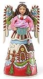 Jim Shore for Enesco Heartwood Creek Sweets Angel Figurine, 10-Inch