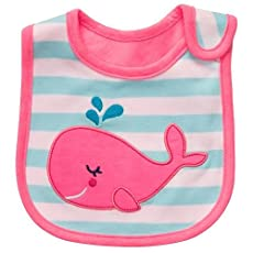 Carter's Whale Teething ~ Feeding Bib