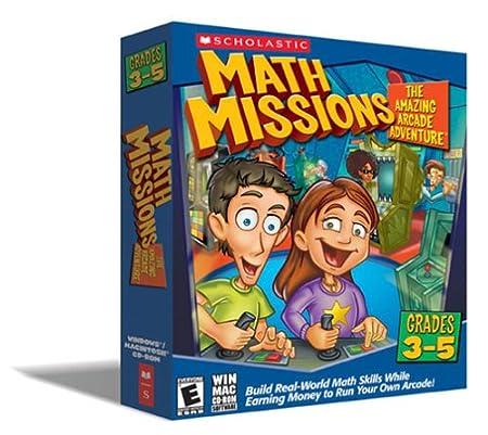 Math Missions: The Amazing Arcade Adventure Grades 3-5  [OLD VERSION]