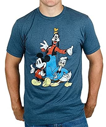 amazoncom disney big three trio mickey mouse donald duck