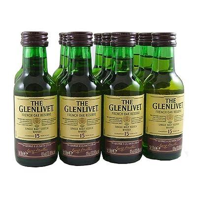 Glenlivet Reserve 15 year old Single Malt Whisky 5cl Miniature - 12 Pack from Glenlivet
