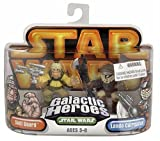 Hasbro 85396 Star Wars Galactic Heroes Mini-Figure 2 Pack - Skiff Guard and Lando Calrissian