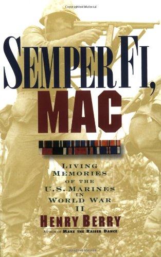Semper Fi, Mac: Living Memories Of The U.S. Marines In Wwii front-419141