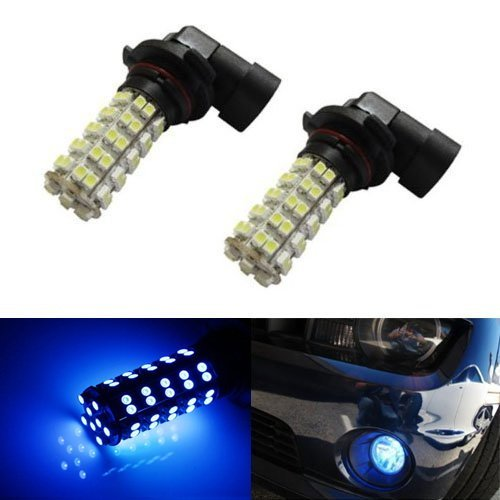 Ijdmtoy (2) 68-Smd-1210 9006 Hb4 Led Replacement Bulbs For Fog Lights Driving Lamps, Ultra Blue