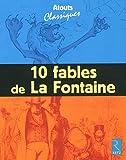 10 fables de La Fontaine : Pack de 6 exemplaires