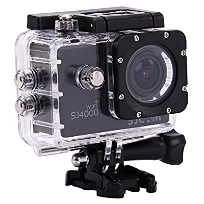 MeGooDo SJCAM Original SJ4000 WiFi Action Camera 12MP 1080P H.264 1.5 Inch 170° Wide Angle Lens Waterproof Diving HD Camcorder Car DVR