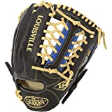 Louisville Slugger Omaha S5 Royal 11.5 Inch Black With Royal, 11.5 Inches/Black With Royal
