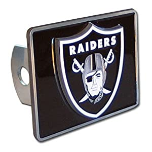 Oakland Raiders NFL Hitch Cover by Siskiyou Automotive