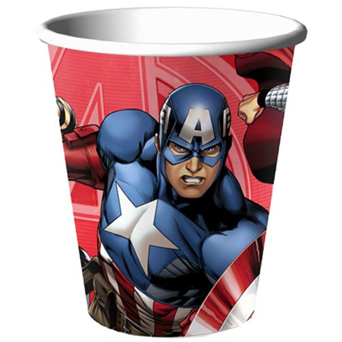 Avengers 'Assemble' 9oz Paper Cups (8ct)
