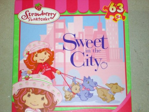 Cheap MEGA STRAWBERRY SHORTCAKE SWEET IN THE CITY 63 PIECE JIGSAW PUZZLE 9 1/8″ X 10 3/8″ (B001IAM6GC)