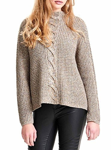 Pullover Austin Pomice Beige 15120907 - Only , S