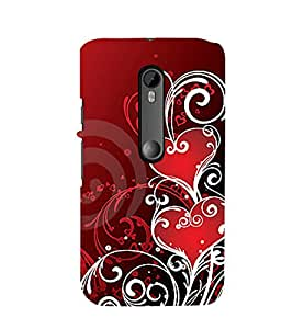 Phone Decor 3D Design Perfect fit Printed Back Covers For Motorola Moto X Play