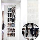 Chinatera 24 Pocket Door Hanging Holder Shoe Organiser Storage Rack Wall Bag Room