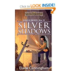 Silver Shadows (Forgotten Realms: Songs and Swords, Book 3) by Elaine Cunningham