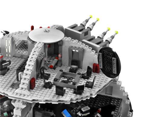 星战迷镇宅大Set,LEGO乐高 10188 星球大战系列之 Death Star 死星图片