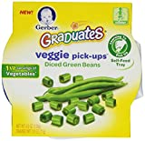 Gerber Graduates Veggie Pick-Ups - Green Bean,  4.5 Ounce (Pack of 8)