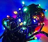 Beleuchtung - LED Universum WBLRGB1065 LED Lichterkette RGB mit 100 LEDs (L�nge: 10 Meter, f�r innen und au�en, spritzwassergesch�tzt)