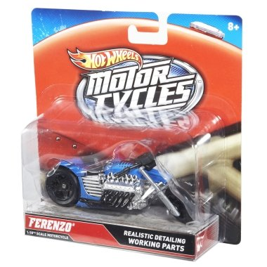 Hot Wheels Motocycles Ferenzo 1:18
