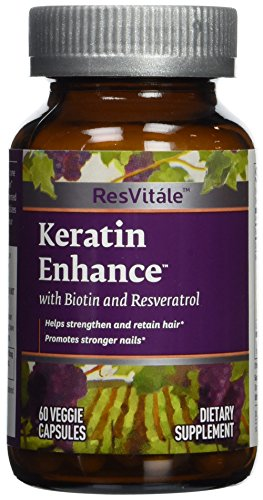 Keratin enhance with biotin & resveratrol