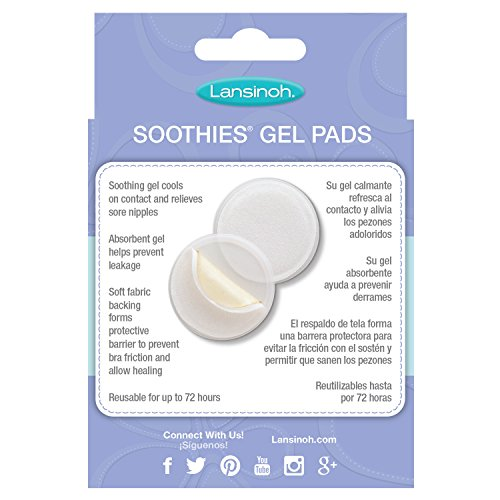 Lansinoh breast gel pads