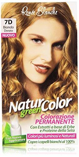 Renée Blanche - Natur Color, Colorazione Permanente, 7D Biondo Dorato