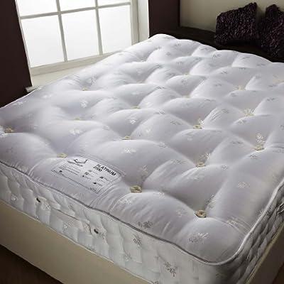 Happy Beds Signature Platinum Organic 2000 Pocket Sprung Mattress Bedroom Furniture