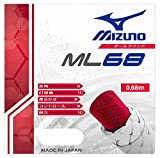 MIZUNO(ミズノ) バドミントンガット ストリングスML68 (10mロール) 73JGA60064 64)ピンク 10m