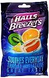 Halls Halls Fruit Breezers Pectin Throat Drops Tropical Chill, Tropical Chill 25 each
