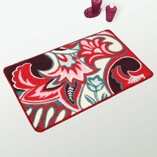 Naomi - [Beauty] Hawaiian Print Luxury Home Rugs (19.7 by 31.5 inches)