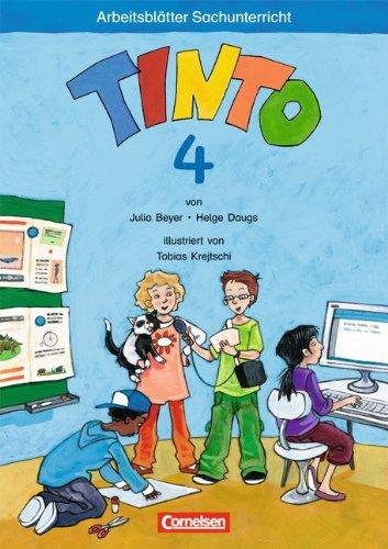 TINTO 2-4 - Sache 3-4: 4. Schuljahr - Arbeitsblätter Julia Beyer ...