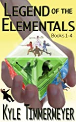 Legend of the Elementals, Books 1-4