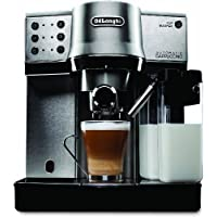 DeLonghi EC860 15 Bar Pump Driven Espresso Machine with Cappuccino (Silver)
