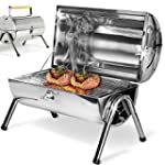 Barbecue portable double plaque grill...