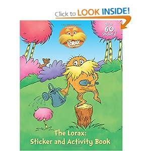 The Lorax Sticker Activity Book (Dr Seuss)