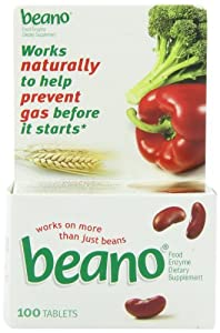 Beano Tablets, 100 Count