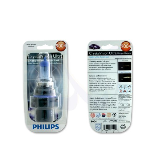 Philips 9004 CrystalVision Ultra Upgrade Headlight Bulb, 1 Pack (Mazda 323 Headlamps compare prices)