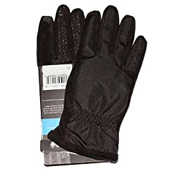 ISOTONER SmarTouch Matrix Nylon WOMEN's Gloves with THERMAflex Lining