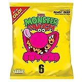 Walkers Monster Munch - Roast Beef (6x25g)
