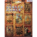 The Hunger Games Propaganda Posters 8-piece Magnet Set