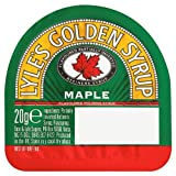Lyle's Golden Syrup Maple Flavour 24x20g Portion Pot