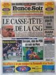 FRANCE SOIR [No 16520] du 17/09/1997...